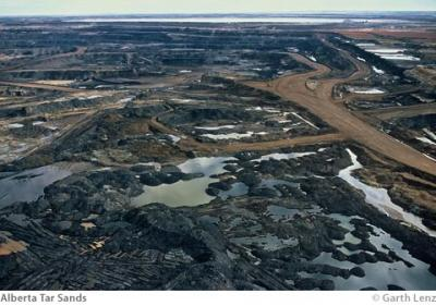 Toxic Pools of Wastewater in Alberta