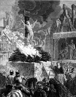 "The witch burning was the medieval version of ""Shock and Awe."""