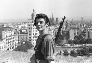 Mujeres Libres (Free Women) were a group of women in Spain during the 1936 revolution fighting against fascism and for equality.